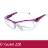 Gafas de seguridad para adaptar formula ONGUARD OG220S morado