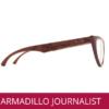 GAFAS DE MADERA MARAC ARMADILLOWOOD REFERENCIA JOIRNALIST OPTICA DR MENDEZ