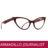 GAFAS REFERENCIA JOURNALIST DE LA MARCA ARMADILLOWOOD DE MADER