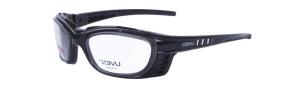 Gafas de seguridad industrial para fórmula UVEX SW09 negro