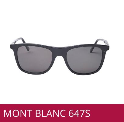 GAFAS DE SOL MONT BLANC HOMBRE REFERENCIA 647S, OPTICA DR MENDEZ