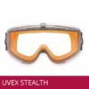 Gafas seguridad para formula UVEX STEALTH color naranja