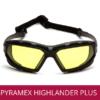 Gafas de seguridad industrial PYRAMEX HIGHLANDER PLUS AMBAR