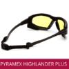 Gafas de protección y seguridad industrial PYRAMEX HIGHLANDER PLUS AMBAR