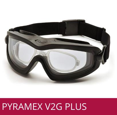 Gafas de seguridad industrial PYRAMEX V2G plus para formula