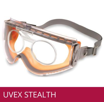 Gafas de seguridad industrial UVEX STEALTH para formula