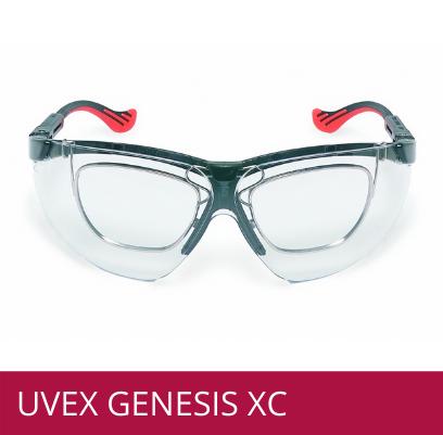 Gafas de seguridad UVEX GENESIS XC para formula