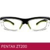 Gafas de seguridad ZT200 PENTAX VERDE
