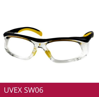 Gafas de seguridad UVEX SW06 amarillo/negro