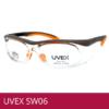 Gafas de seguridad UVEX SW06 naranja/ negro