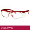 Gafas de seguridad para formula UVEX SW06 rojo/rosado