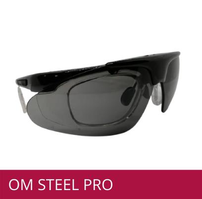 Gafas de protección OM STEEL PRO